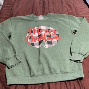 Pullover Holiday Sweatshirt. New Condition!